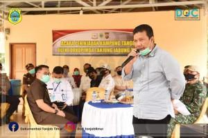 Bupati Launching Kampung Tangguh Nusantara